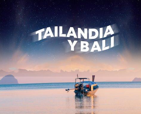 TAILANDIA Y BALI